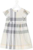 Burberry checkered dress - kids - Cotton - 4 yrs