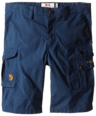 Fjallraven Kids Kids Vidda Shorts (Uncle Blue/Black) Kid's Shorts
