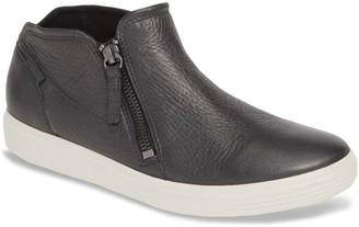 Ecco Soft 7 Leather Zip Sneaker