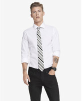 Express slim fit spread collar 1MX dress shirt