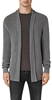 Allsaints Allsaints Marrin Cotton Cardigan, Grey