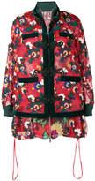 Sacai floral print jacket
