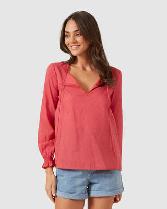 French Connection Dobby Relaxed Shirt