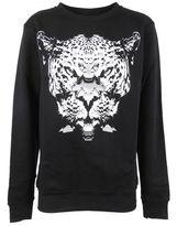 Marcelo Burlon County of Milan Leopard Print Sweatshirt