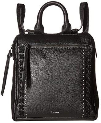 The Sak Loyola Convertible Mini Backpack (Black) Backpack Bags