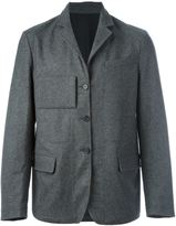 Marni single breasted jacket - men - Cotton/Polyamide/Spandex/Elastane/Virgin Wool - 48