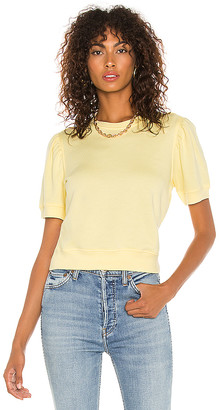 David Lerner Jade Puff Sleeve Top