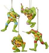 Kurt Adler Teenage Mutant Ninja Turtles Ornament (Set of 4)