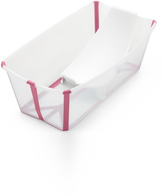 Stokke Flexi Bath(R) Foldable Baby Bath Tub with Temperature Plug & Infant Insert