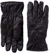 Isotoner Men's NeverWet smarTouch Packable Gloves