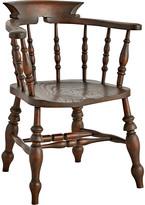 Rejuvenation Carved & Turned English Elm Windsor Chair