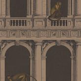 Fornasetti Procuratie e Scimmie Wallpaper - 97/8025