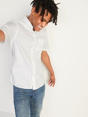 Old Navy Built-In Flex Everyday Oxford Short-Sleeve Shirt for Men