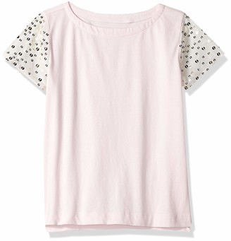 Look by crewcuts Girls' Sequin Sleeve T-Shirt