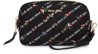 Miu Miu Printed Make-Up Bag