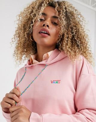 Vans Junior V hoodie in pink