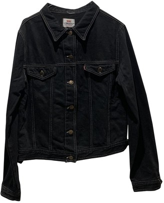 Levi's Black Denim - Jeans Jackets
