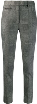 Dondup Check Pattern Trousers