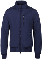 Armani Jeans Midnight Blue Padded Blouson Jacket