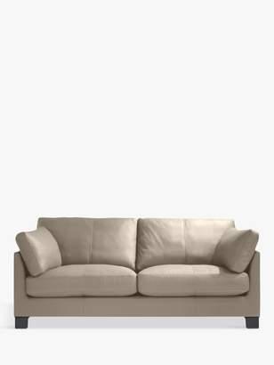 John Lewis & Partners Ikon Medium 2 Seater Sofa, Dark Leg, Nature Putty