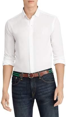 Ralph Lauren Carpri Slim-Fit Mesh Knit Shirt