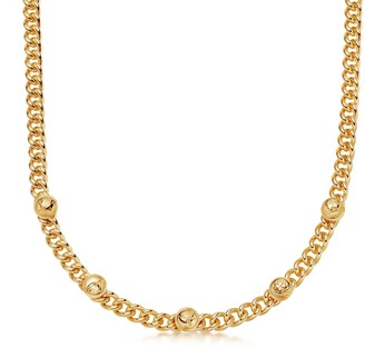 Missoma Lucy Williams Gold Lucky Charm Chain Necklace