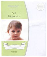 Bubba Blue Everyday Basic Cot Pillow Case, Satin White