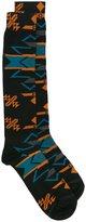 Marcelo Burlon County of Milan 'Pendleton' long socks