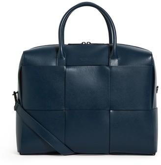Bottega Veneta Leather Marcopolo Briefcase