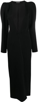 Ann Demeulemeester Puff Sleeve Coat