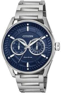 Citizen Eco-Drive Solar Powered Stainless Steel Watch