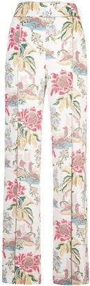 Peter Pilotto floral-print wide-leg trousers