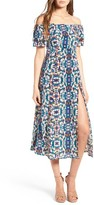Stone_Cold_Fox Women's Stone Cold Fox Versilia Silk Midi Dress