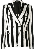 Tagliatore striped blazer - women - Cotton/Cupro - 44