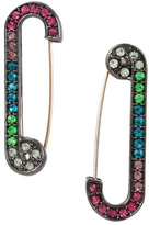 Betsey Johnson Mystic Baroque Safety Pin Earrings