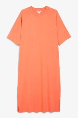Monki Maxi t-shirt dress