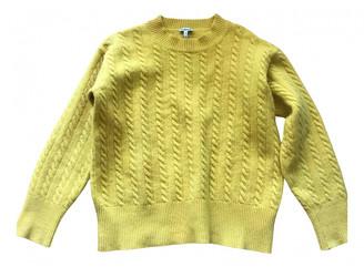 Loewe Yellow Wool Knitwear