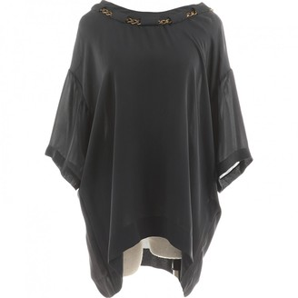 Chloé Grey Silk Top for Women