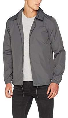 Dickies Men's Torrance Raincoat, (Charcoal Grey)
