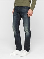 Calvin Klein Sculpted Olive Blue Slim Jeans