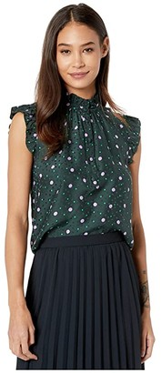 Kate Spade Pop Dots Shell (Pine Forest) Women's Clothing