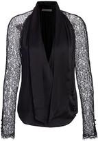 Jonathan Simkhai Lace & Silk Wrap Top