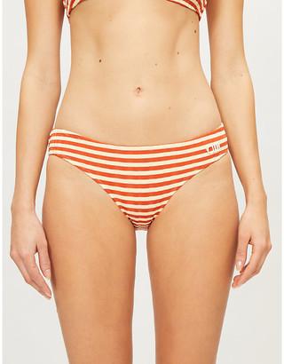 Solid & Striped The Elle striped bikini bottoms
