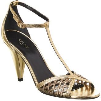 Celine Gold Women's Shoes   Shop the