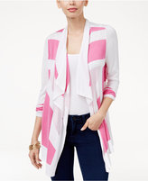 INC International Concepts Colorblocked Cardigan, Only at Macy's