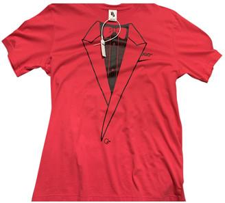 Nike x Off-White Pink Cotton T-shirts