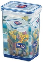 Lock & Lock Pack of 6 Food Storage Box, Storage Box, Transparent, 1.3 l Square Set by Danto® High 135 x 102 x 185 mm