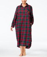 Lauren Ralph Lauren Plus Size Ankle-Length Sleepshirt