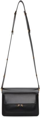 Marni Black Polished Medium Trunk Bag