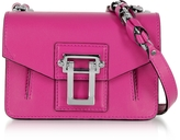Proenza Schouler Hava Chain Peony Smooth Leather Crossbody Bag w/Whipstitch